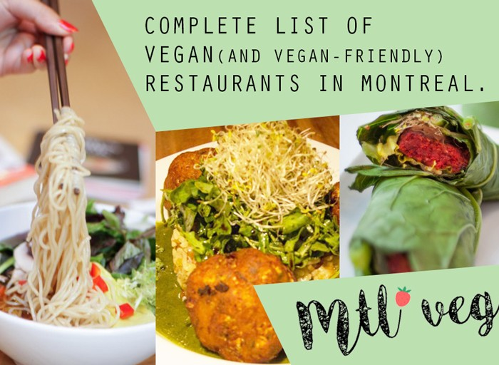 40 Top Vegan Restaurants In Montreal July 2017 Mtl Veg